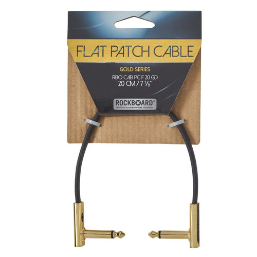 Rockboard Gold Series Flat Patch Cable 20CM