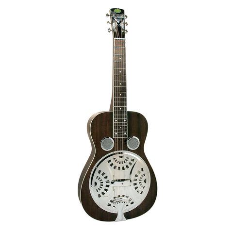 National Pioneer RP1 Chipped Ivory Resonator Electric Guitar