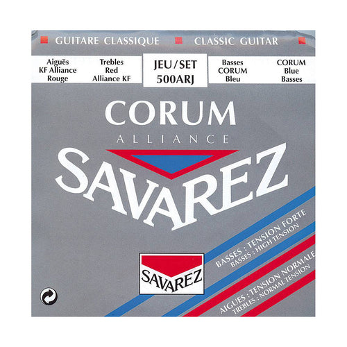 Savarez 500ARJ Blue Basses Red Trebles Corum