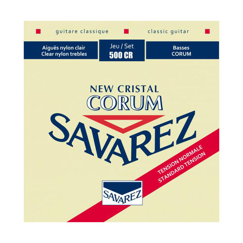 Savarez 500CR Red Std Tension New Cristal Corum