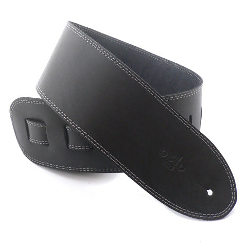 DSL 3.5'' Single Ply Black/Grey Stitch Strap