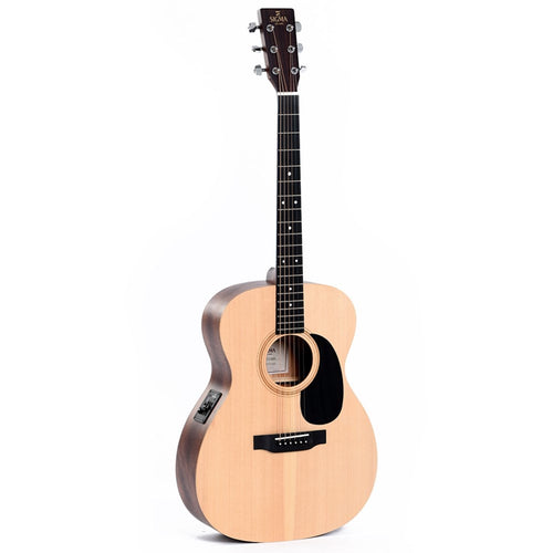 Sigma 000ME SE Series 000 Spruce/Mahogany Acoustic/Electric Guitar