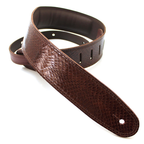 DSL Snakeskin Brown Strap
