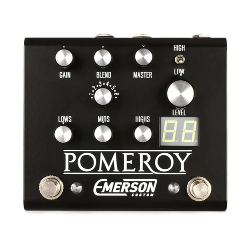 Emerson Custom Pomeroy Pedal-Black