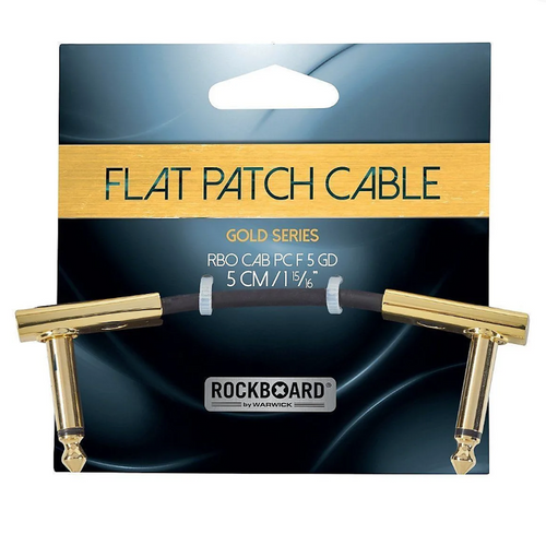 Rockboard Gold Series Flat Patch Cable 5CM