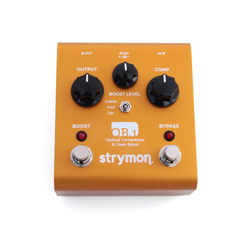 Strymon OB1 Optical Compressor & Clean Boost