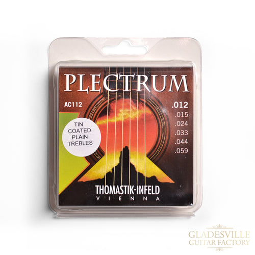 Thomastik AC112 Plectrum Acoustic Guitar Strings 12-59