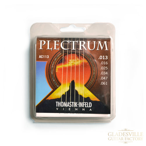 Thomastik AC113 Plectrum Acoustic Guitar Strings 13-61