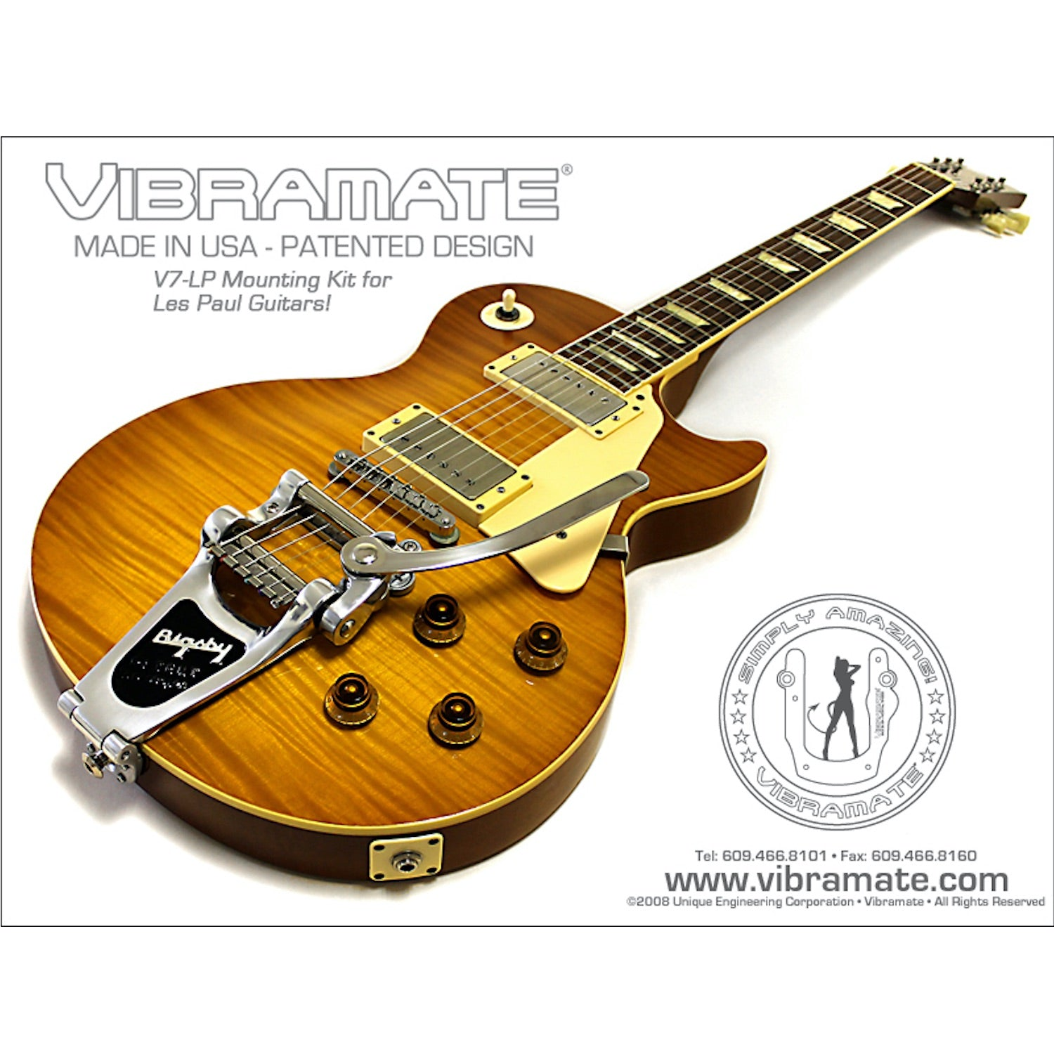 Vibramate V7-LP Les Paul