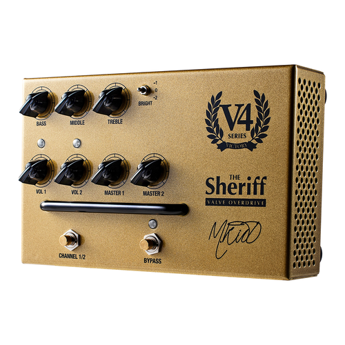 Victory V4 The Sheriff Valve Overdrive Pedal