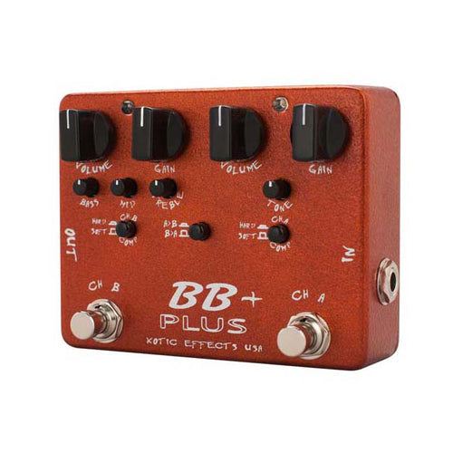 Xotic Effects BB Booster + Plus