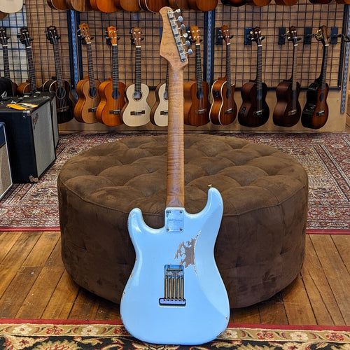 Xotic California Classic XSC-2 Ash Sonic Blue Heavy Aged
