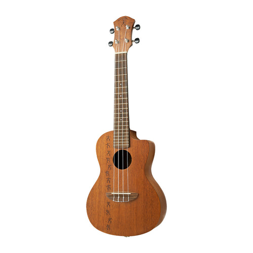 aNueNue PM2CE Papa 2 Solid Top Cutaway Concert Uke with Pickup