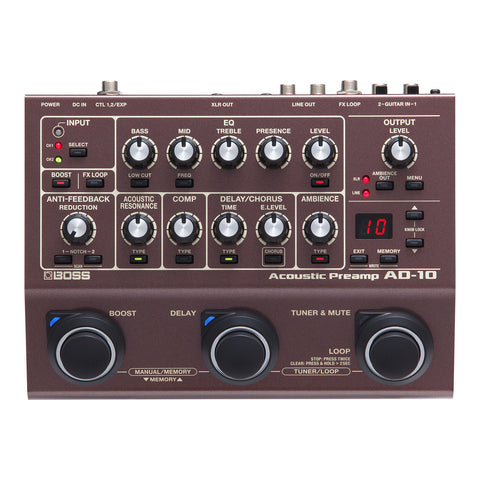 Boss GT1000 Amp Effects Processor