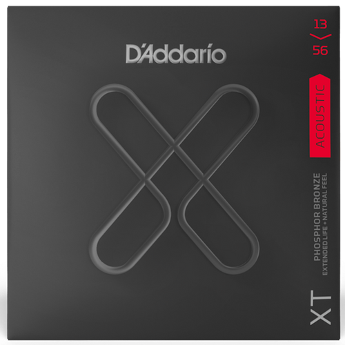 D'Addario SET ACOUS XT PHOS BRZ MEDIUM