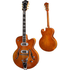 Eastman T58/V-AMB Thinline Semi-Hollow Electric Amber