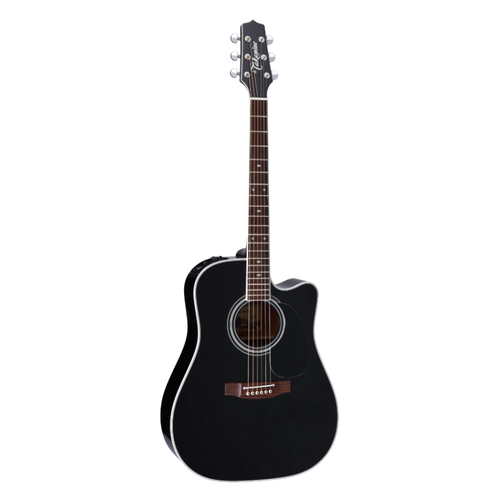 Takamine EF341SC Dreadnought Black