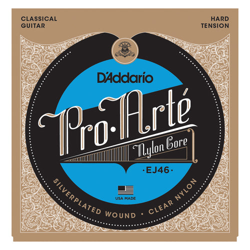 D'Addario EJ46 Pro-Arte Nylon, Hard Tension
