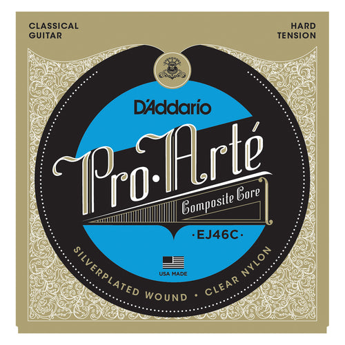 D'Addario EJ46C Composite Nylon, Hard Tension