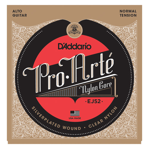 D'Addario EJ52 Pro-Arte Alto Guitar Strings, Normal Tension