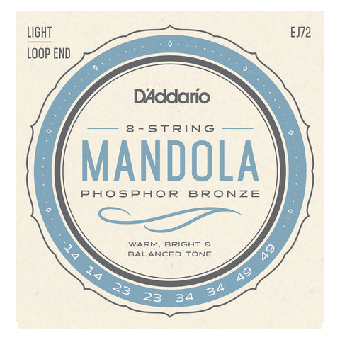 D'Addario EJ67 Nickel Mandolin Strings