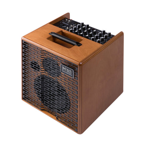 Acus OneForStreet Wood 80W RMS Battery Powered Acoustic Guitar Amplifier