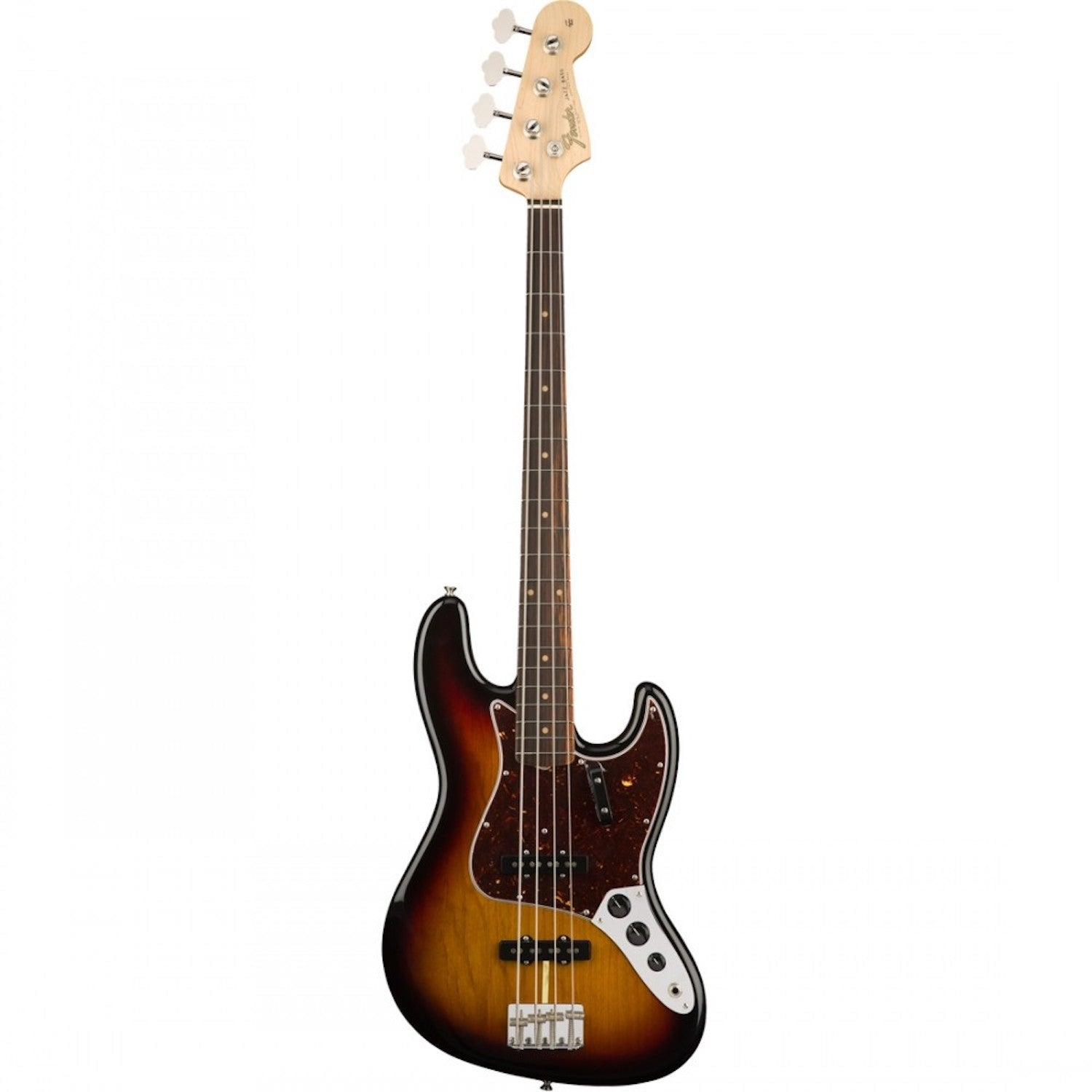 Fender American Original '60s Jazz Bass®, Rosewood Fingerboard, 3-Color Sunburst