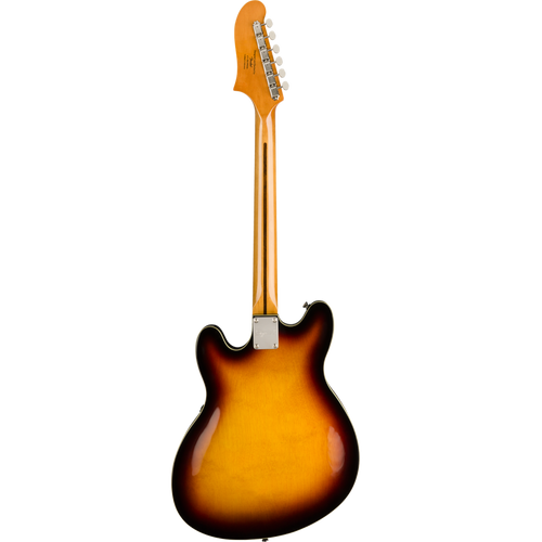 Squier Classic Vibe Starcaster®, Maple Fingerbaord, 3-Color Sunburst