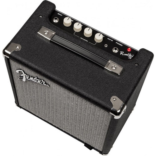 Fender Rumble™ 25 (V3), 240V AUS, Black/Silver - Amplifier