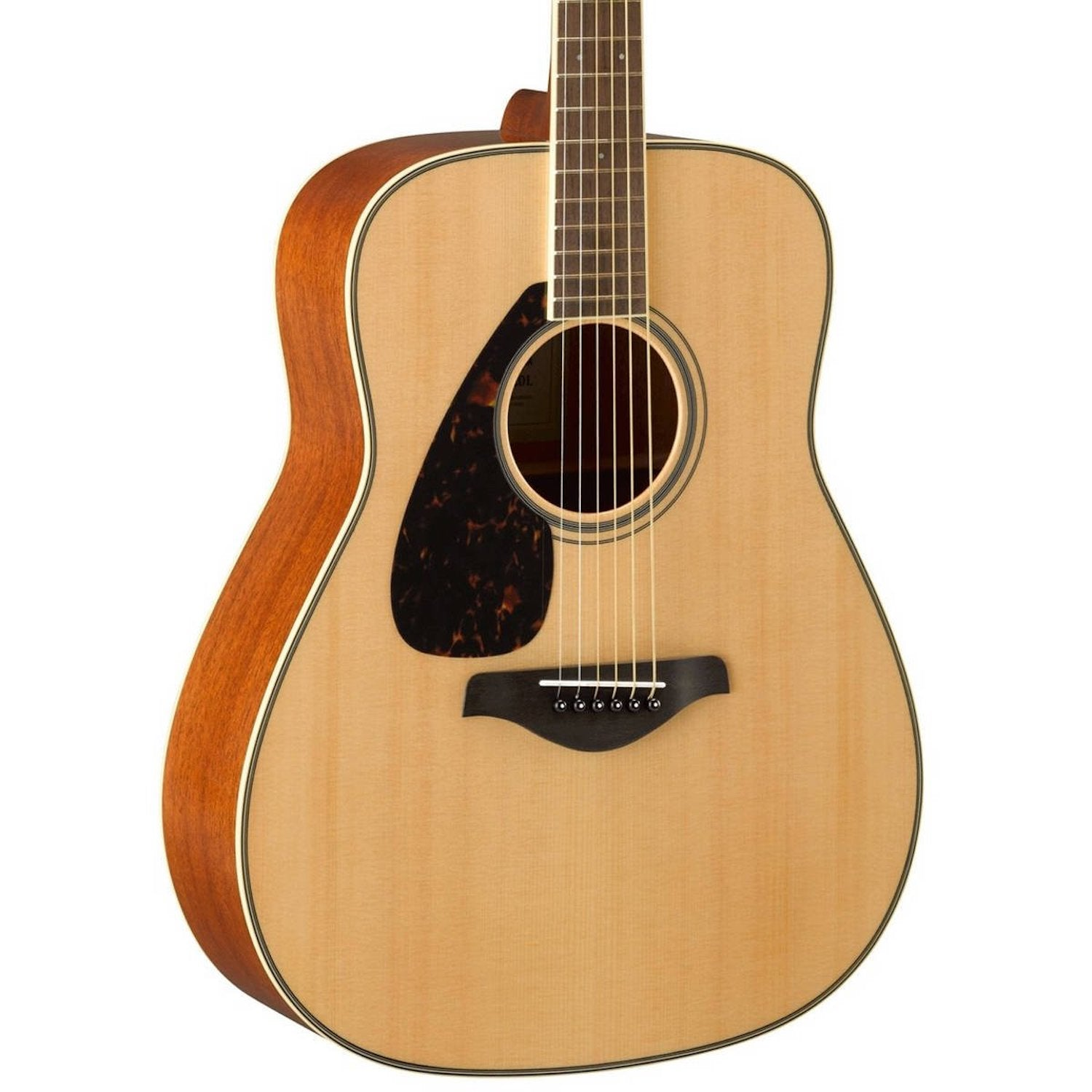 Yamaha FG820-L Natural Finish Left Hand
