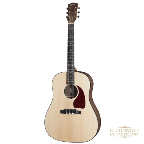 Gibson J-45 Herringbone All Walnut Acoustic Guitar Antique Natural
