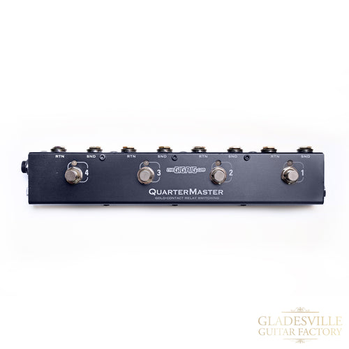 The GigRig QMX4 Quartermaster 4 Pedal Looper