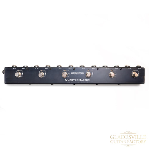 The GigRig Quartermaster 6 Pedal Looper
