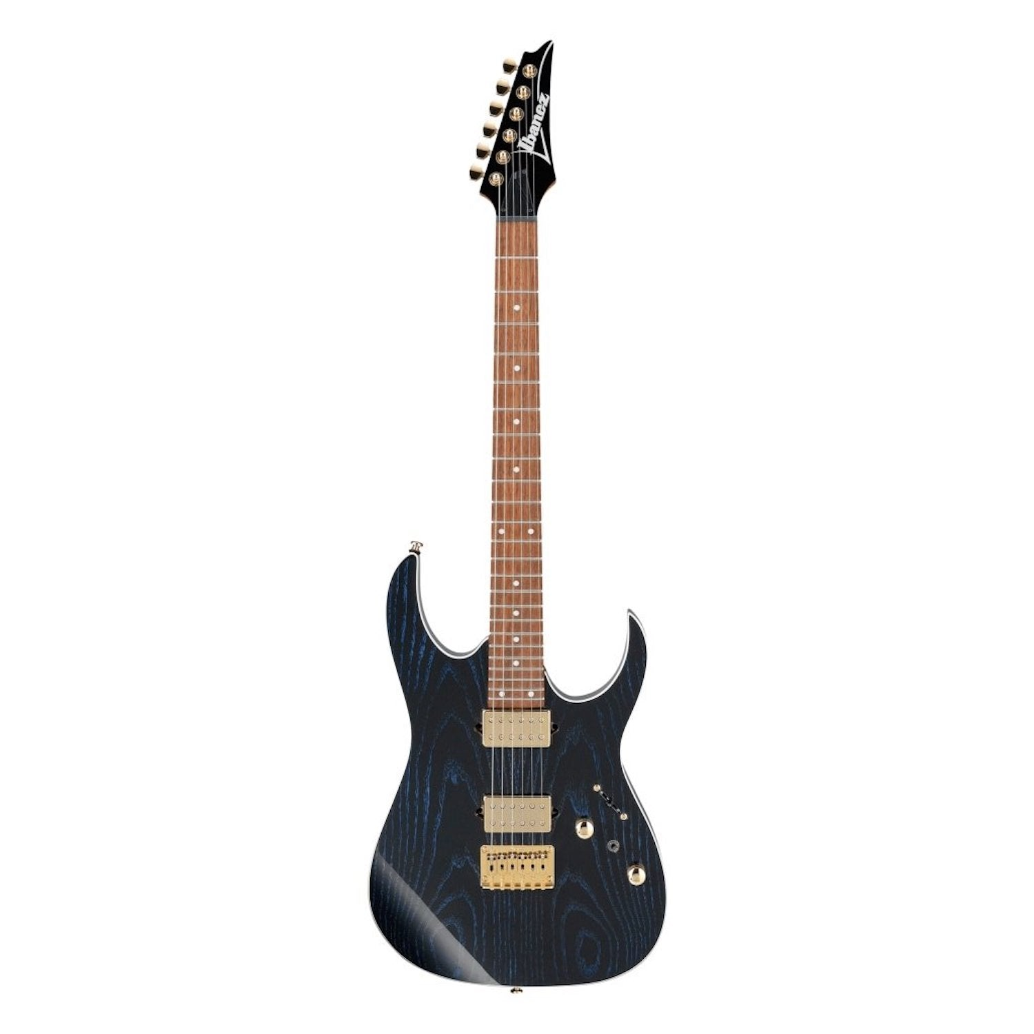 Ibanez RG421HPAH BWB Electric Guitar - in Blue Wave Black