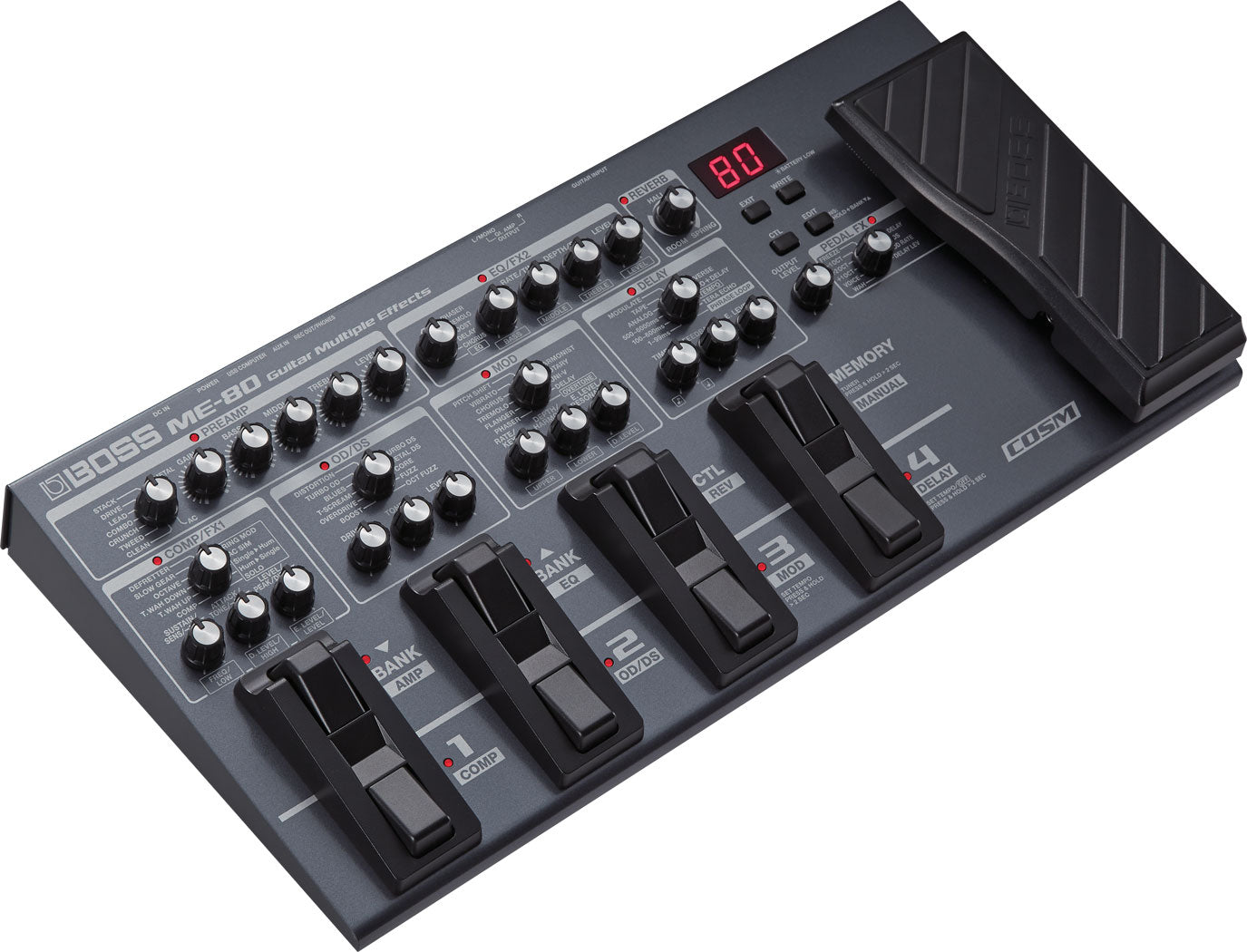 Boss ME80 Guitar Multiple Effects