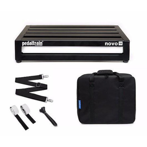 Pedaltrain Novo 18 Pedalboard with Soft Case