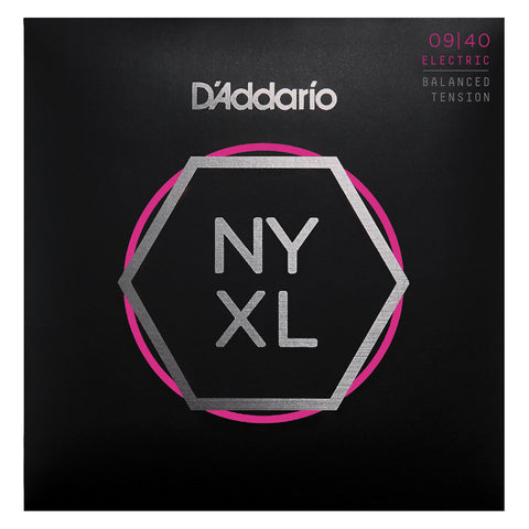 D'Addario NYXL0984 Nickel Wound Strandberg 8-String Electric Guitar Strings, Super Light, 09-84