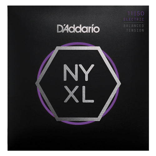 D'Addario NYXL1150BT Nickel Wound Electric Guitar Strings, Balanced Tension Medium, 11-50