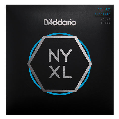 D'Addario NYXL50105 Nickel Wound Bass Guitar Strings, Medium, 50-105, Long Scale