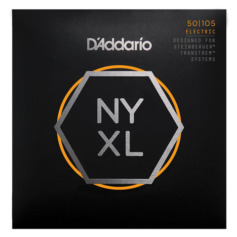D'Addario NYXL45105 Nickel Wound Bass Guitar Strings, Light Top / Med Bottom, 45-105, Long Scale