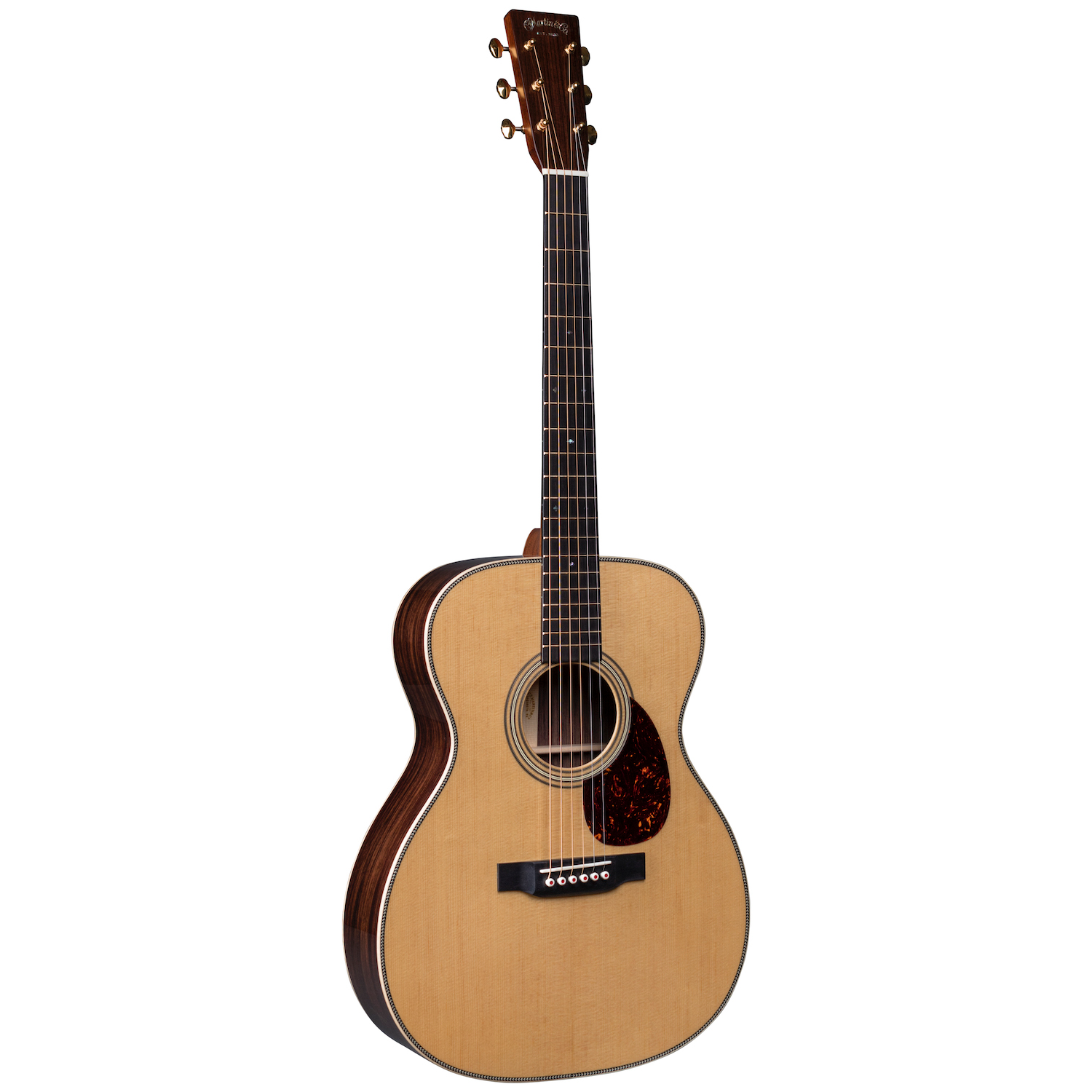 Martin OM28 MD Modern Deluxe Series Orchestral Model Acoustic Guitar