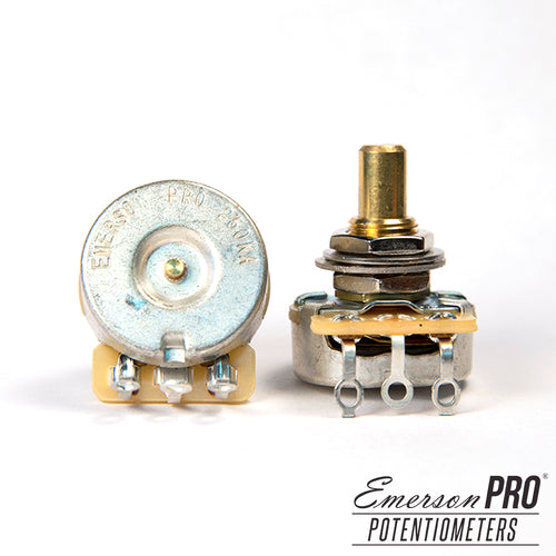 Emerson Pro CTS 250K Solid Shaft Potentiometer