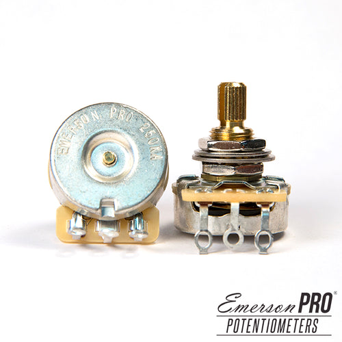 Emerson Pro CTS 250K Split Shaft Potentiometer