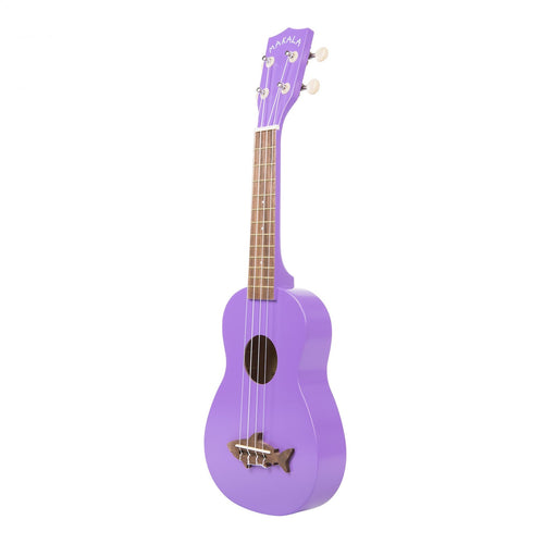 Makala Shark Soprano Ukulele Sea Urchin Purple