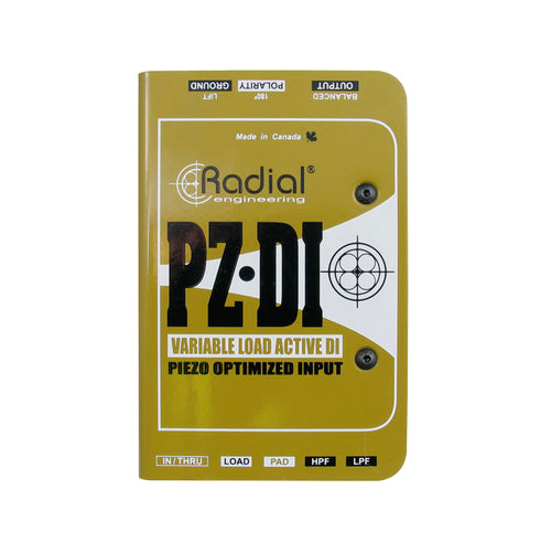 Radial PZ-DI +48V Orchestral Acoustic Direct Box