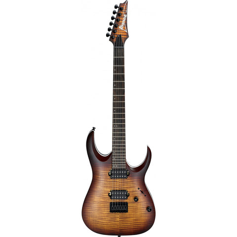 Ibanez RG1120PBZ CKB Electric Guitar - in Charcoal Black Burst