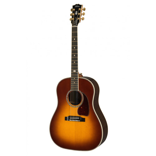 Gibson J-45 Deluxe Acoustic Guitar Rosewood Burst