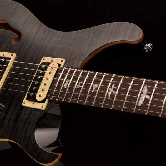 PRS SE Custom 22 Semi Hollow Grey Black