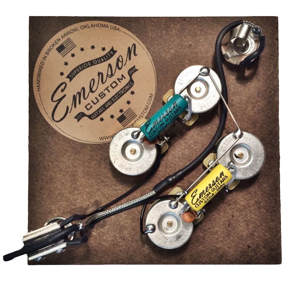 emerson sg prewired kit gladesville guitar factory rh guitarfactory net