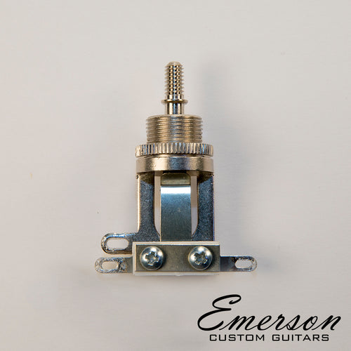 Emerson Short Straight Switchcraft Toggle Switch